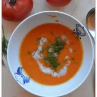 Krem pomidorowo-kokosowy z koperkiem czyli Zupowy Wtorek odc.95