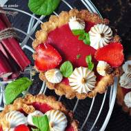 Tartaletki rabarbarowo-truskawkowe