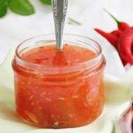 Słodko-kwaśny sos chilli z czosnkiem