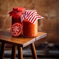 Sos ze świeżych pomidorów malinowych
