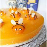Pszczółka - sernik na zimno z nasionami chia