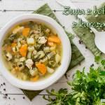 Zupa z botwinki z kurczakiem i ziemniakami