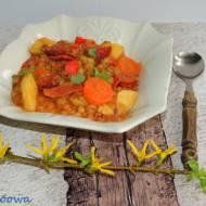 Hiszpańska zupa z soczewicy - Lentejas