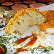 Kalafior i pierś z kurczaka w chrupiącej panierce