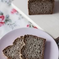 Mieszany chleb razowy na zakwasie