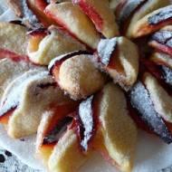 Składane ciasteczka ze śliwkami