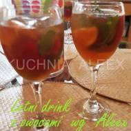 Letni drink z owocami wg Aleex