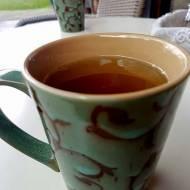 Zielona herbata z olejem kokosowym