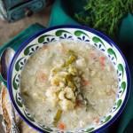 Zupa kalafiorowa z warzywami