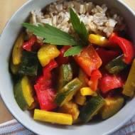 Curry z warzywami na mleku kokosowym