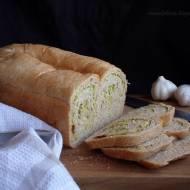 Sztuka wyrastania i chlebek z zieloną wkładką