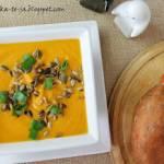 Krem z marchewki i batatów