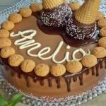Mleczny tort czekoladowy