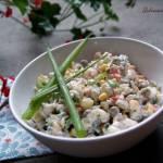 Sałatka jarzynowa z ryżem - na szybko