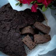 Brownie z cukinii - wegańskie, bezglutenowe, bez tłuszczu