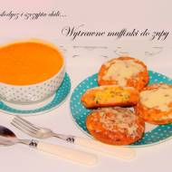 Wytrawne muffinki do zupy alla pizzerki.