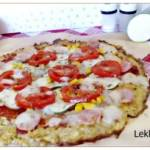 Pizza na fasolkowym spodzie