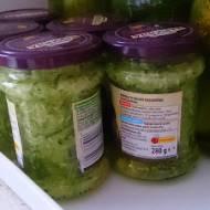 Kiszone tarte ogórki (do zupy ogórkowej)