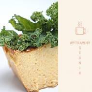 Wytrawny sernik z białych warzyw