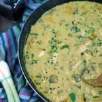 Curry z pieczarkami i czarnuszka