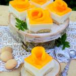 sernik na zimno z mango