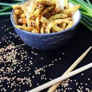 Fasolka szparagowa z sezamem po azjatycku