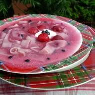 zupa wiśniowo-jagodowa