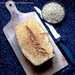 Prosty chleb z kaszy gryczanej niepalonej (Vege & Gluten free)