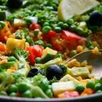 Warzywna paella