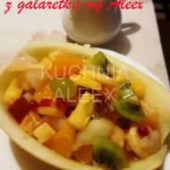 Letnia sałatka owocowa z galaretką wg Aleex