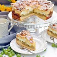 Najlepsze ciasto z agrestem – Kruche ciasto z agrestem i pianką