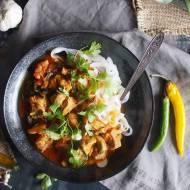 Szybkie curry z kurczakiem i szpinakiem / Easy chicken and spinach curry