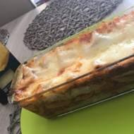 Lasagne z sosem bolońskim, sosem beszamelowym i serem !