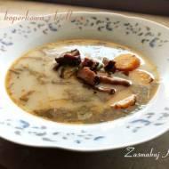 Zupa koperkowa z kiełbasą