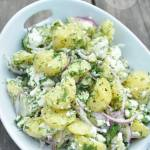 Sałatka z ziemniakami i fetą