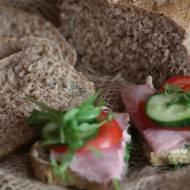 Chleb żytnio pszenny z otrębami