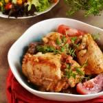 Kurczak z ziołami w pomidorach