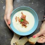 Zupa kalafiorowa, krem z kalafiora z boczkiem