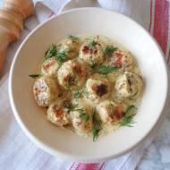 Pulpeciki z kurczaka w sosie musztardowym (Polpettine di pollo con salsa alla senape)