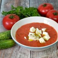 Szybkie gazpacho- zupa pomidorowa na zimno