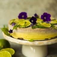 Tort z mango i limonki (bez glutenu)