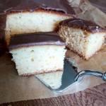 Ciasto orzechowo-cytrynowe bez miksera