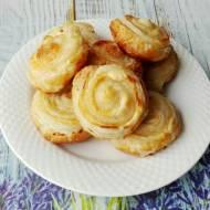 Ciasteczka francuskie z twarogiem