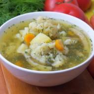 Zupa z letnich warzyw
