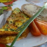 Jajecznica a'la omlet