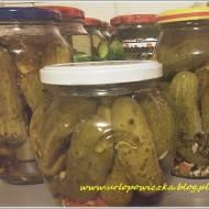 Ogórki konserwowe z papryczką chili (na ostro)