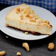Przepis #57 FIT sernik na zimno z masłem orzechowym ( z jogurtu greckiego)