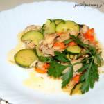 Potrawka z królika z warzywami