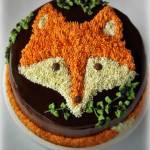 Tort lis – pomysł na dekorację XII
