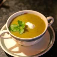 Cukiniowa zupa krem z awokado